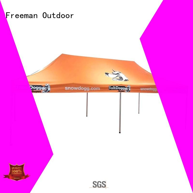 FeaMont environmental trade show tent folding for engineering