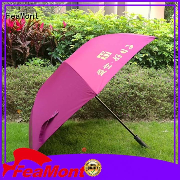 FeaMont ribs promotional umbrella sensing for event