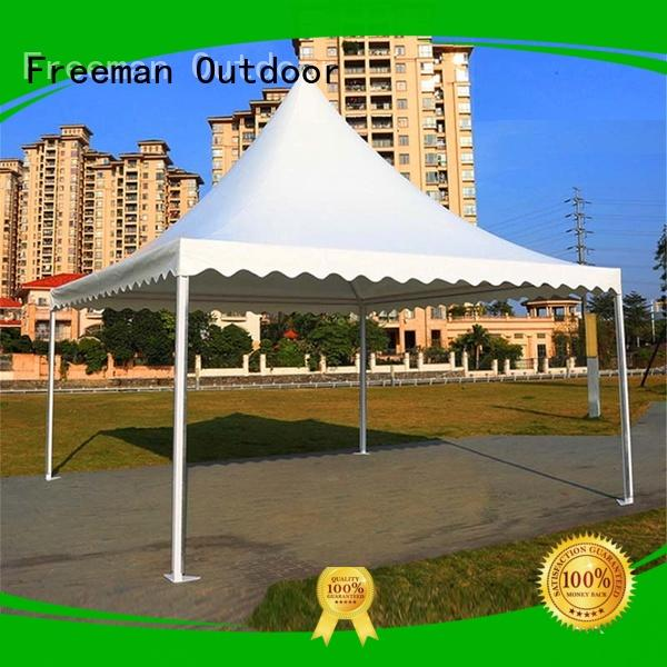 trade 10x10 canopy tent in different shape for sporting Freeman Outdoor