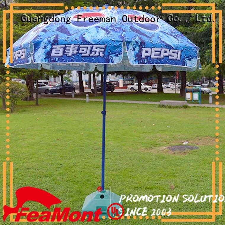 FeaMont top large beach umbrella for exhibition