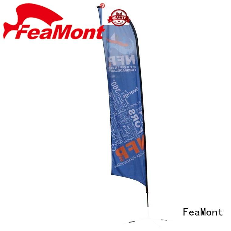 FeaMont advertising flag for-sale for camping