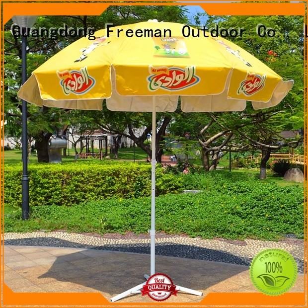 pole folding beach umbrella type for event FeaMont