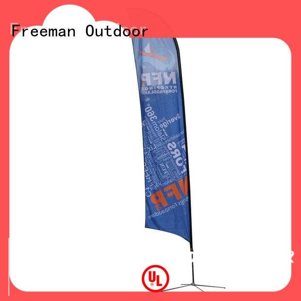 outdoor feather flags certifications for outdoor exhibition