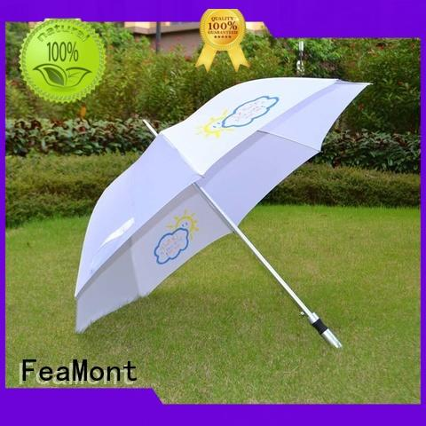 FeaMont customized umbrella design constant for event