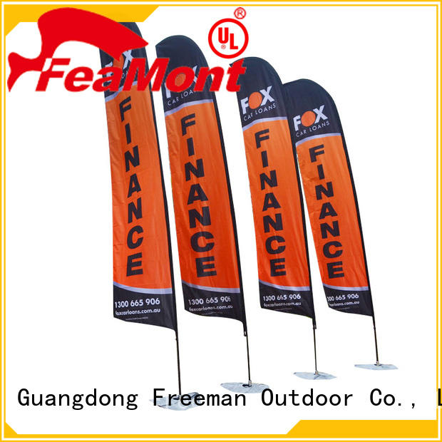 FeaMont beach feather flag banners for competition