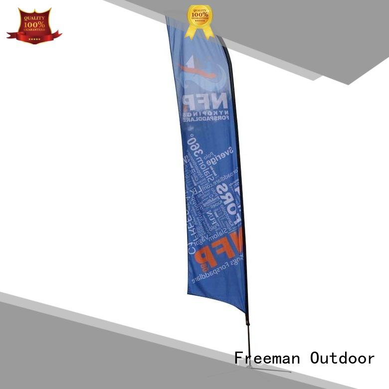 FeaMont advertising feather flag banners for competition