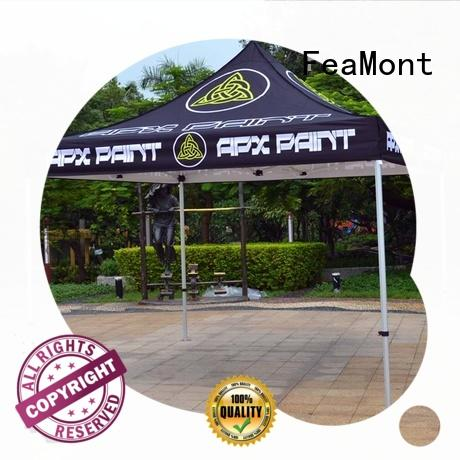 FeaMont splendid gazebo tent 3x3 in different shape for outdoor exhibition