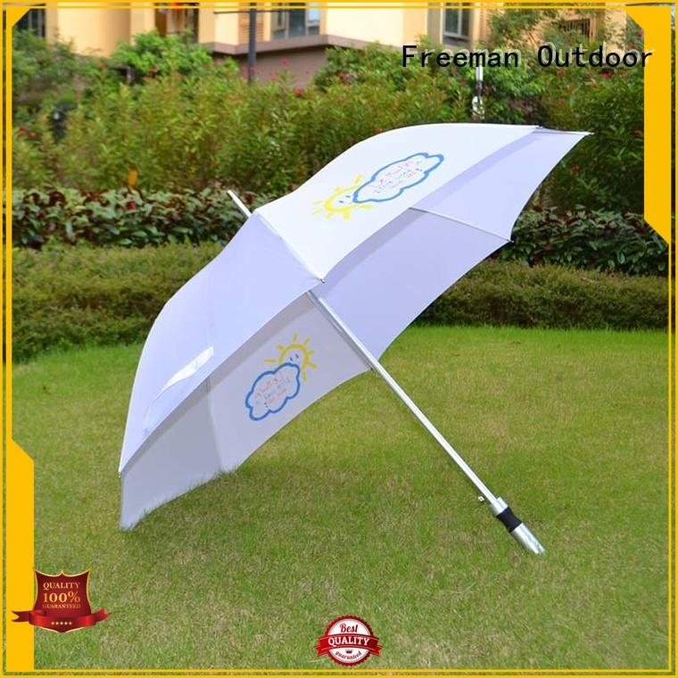 FeaMont printed best rain umbrella owner for outdoor exhibition