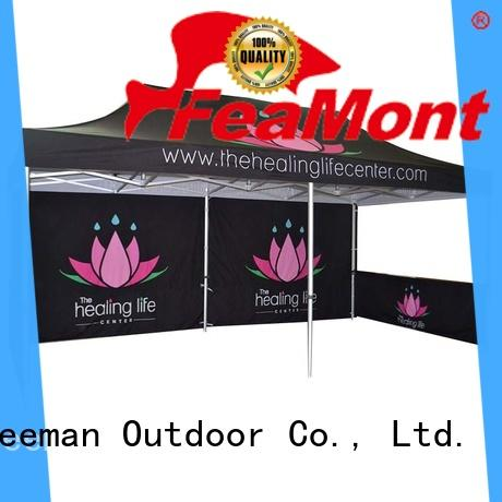 FeaMont affirmative pop up canopy solutions for outdoor exhibition