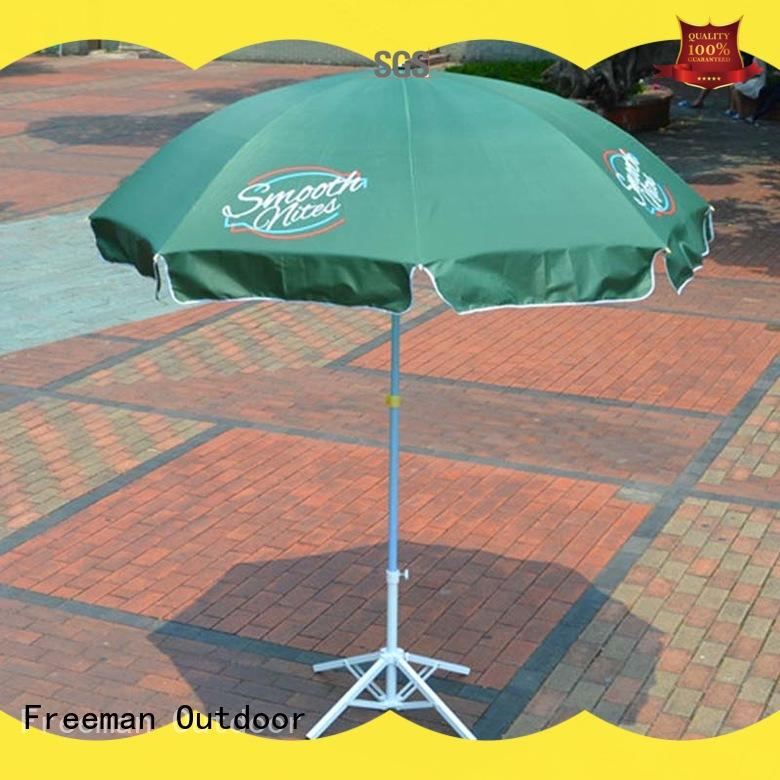 8 ft beach umbrella advertising type for camping