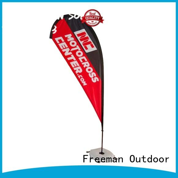 FeaMont feather beachflag for advertising