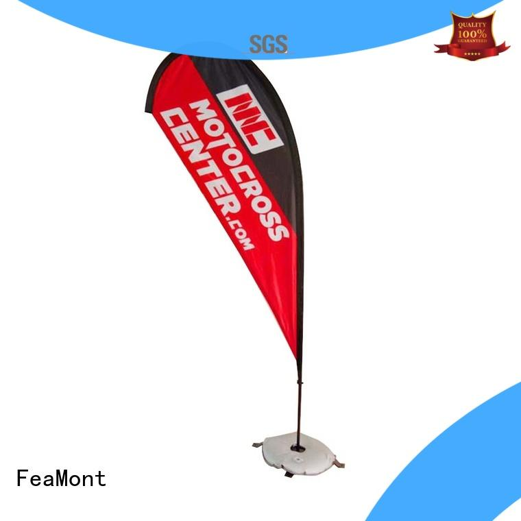 event flag wind-force for outdoor exhibition FeaMont