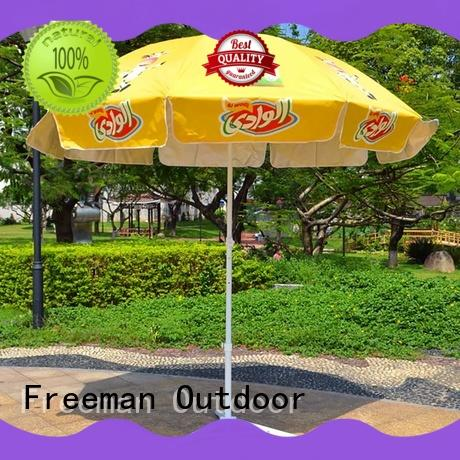 Freeman Outdoor comfortable commercial beach umbrella umbrella for camping