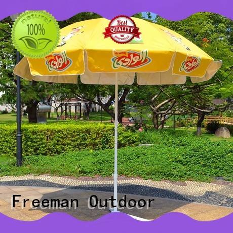 Freeman Outdoor comfortable commercial beach umbrella umbrella for camping