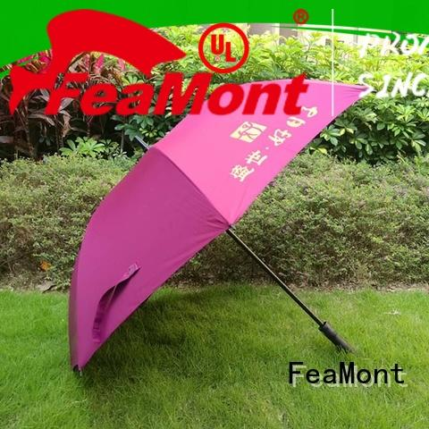 FeaMont automatical promotional umbrellas supplier for wedding