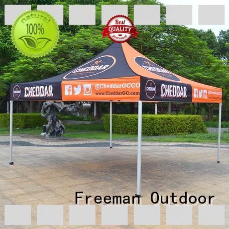 customized gazebo canopy tent aluminium for camping Freeman Outdoor