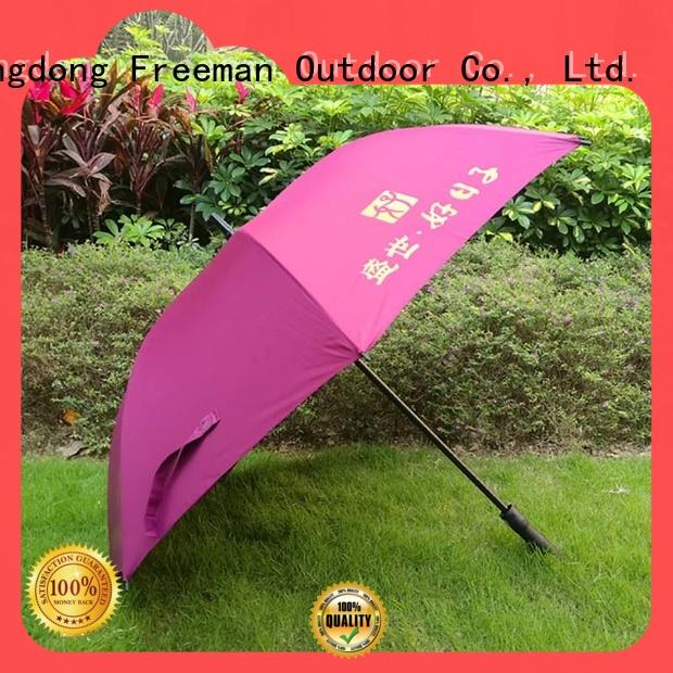 FeaMont handle promotional umbrella effectively for advertising