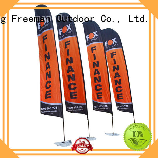 advertising flag feather for camping Freeman Outdoor