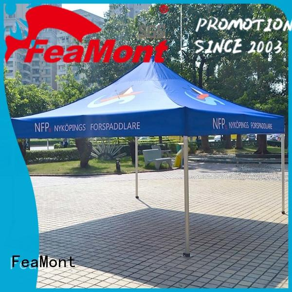 FeaMont canopy tent 10x20 production for outdoor exhibition