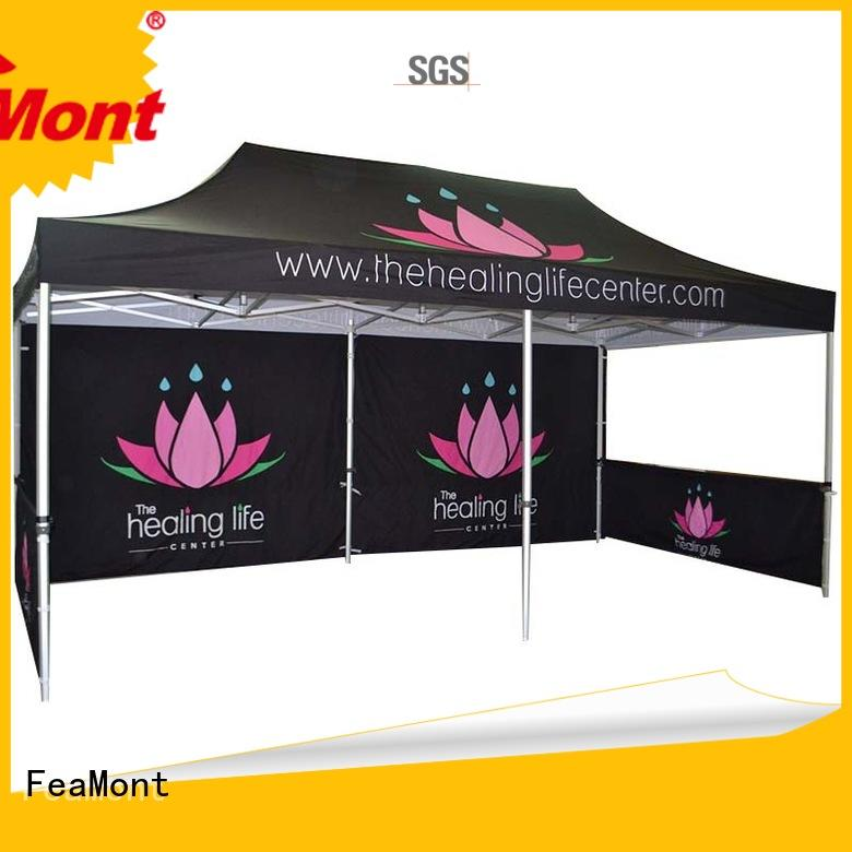 FeaMont aluminium advertising tent certifications for trade show