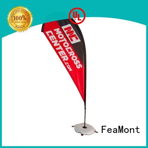 FeaMont stable feather flag banners cancopy for camping
