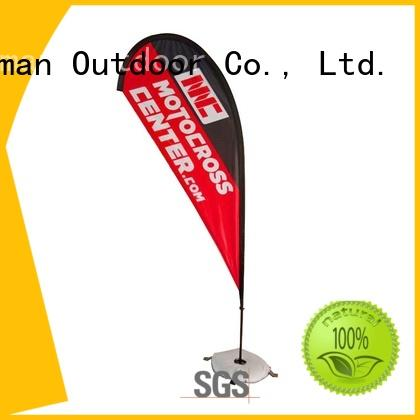 FeaMont advertising promotional flag cost for sport events