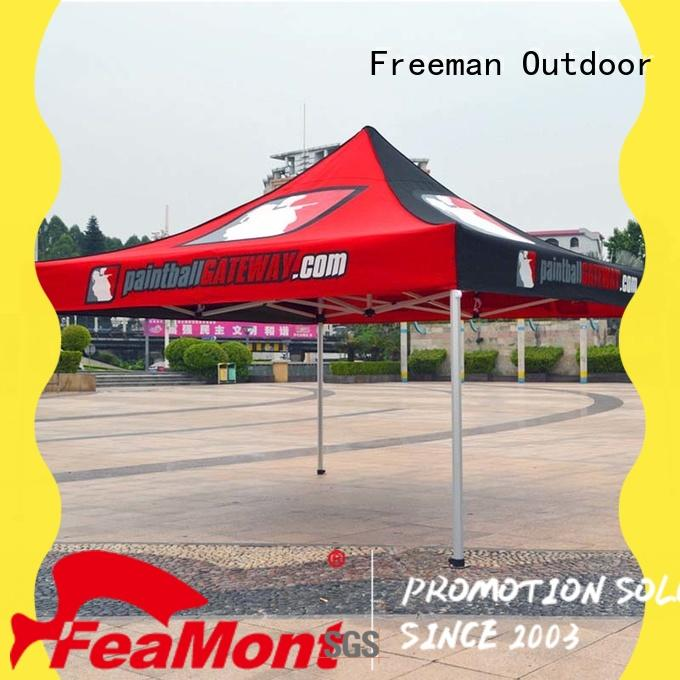 FeaMont designed easy up tent China for engineering