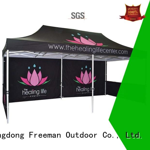 printed display tent show widely-use for engineering