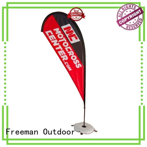 nice promotional flag aluminum for sale for sporting