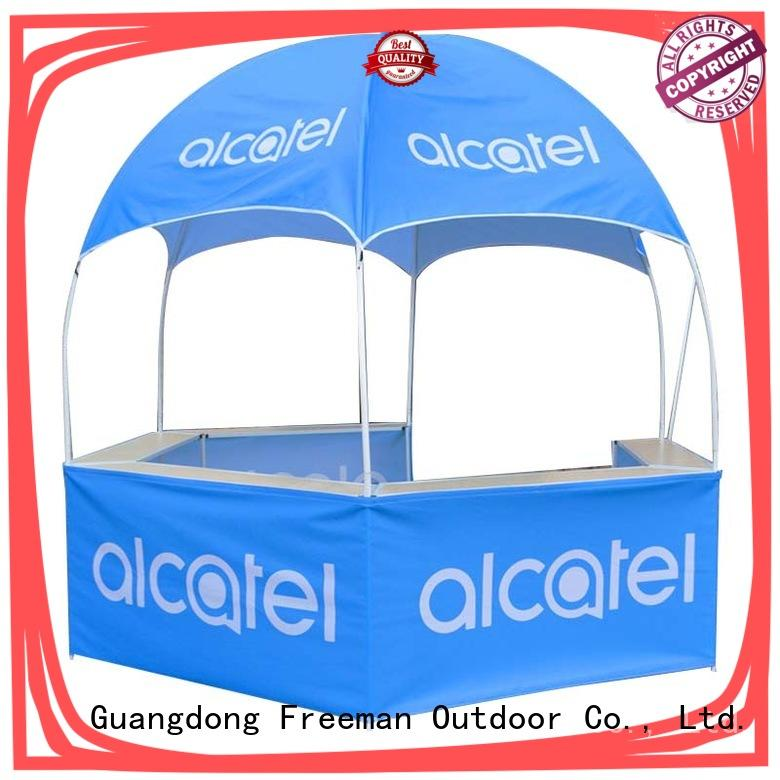 FeaMont kiosk dome display tent package for trainning events