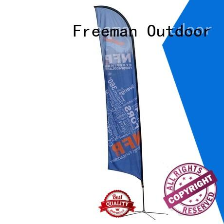 promotional flag beach cost for sport events