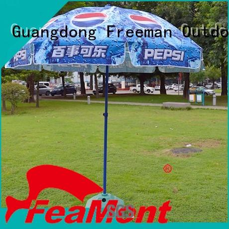 FeaMont hot-sale black and white beach umbrella type