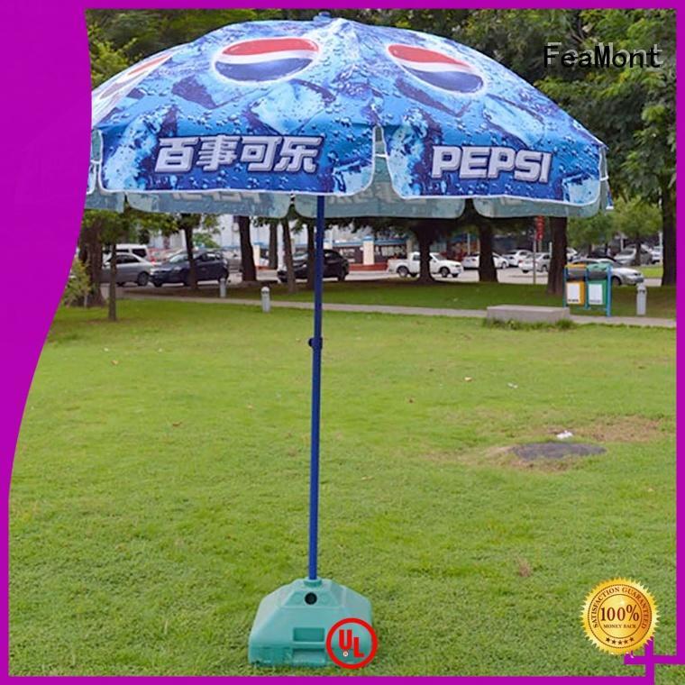 waterproof outdoor beach umbrella frame owner in street