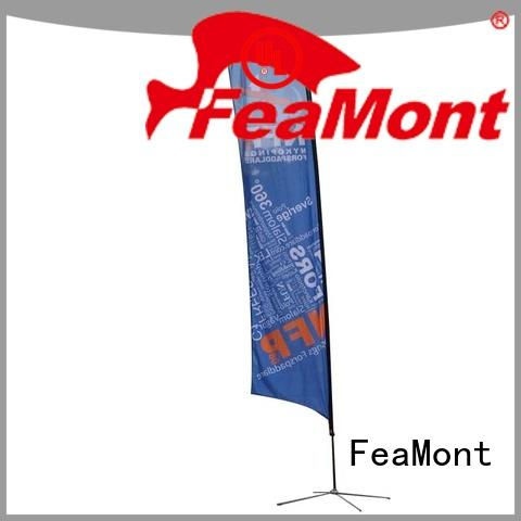 feather feather flag banners advertising for outdoor activities FeaMont