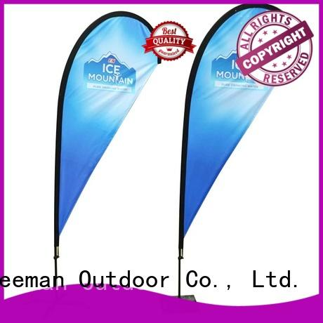 FeaMont newly advertising feather flags for sale for outdoor activities