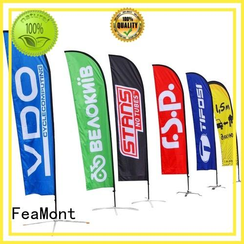 FeaMont outdoor event flag cost for sport events