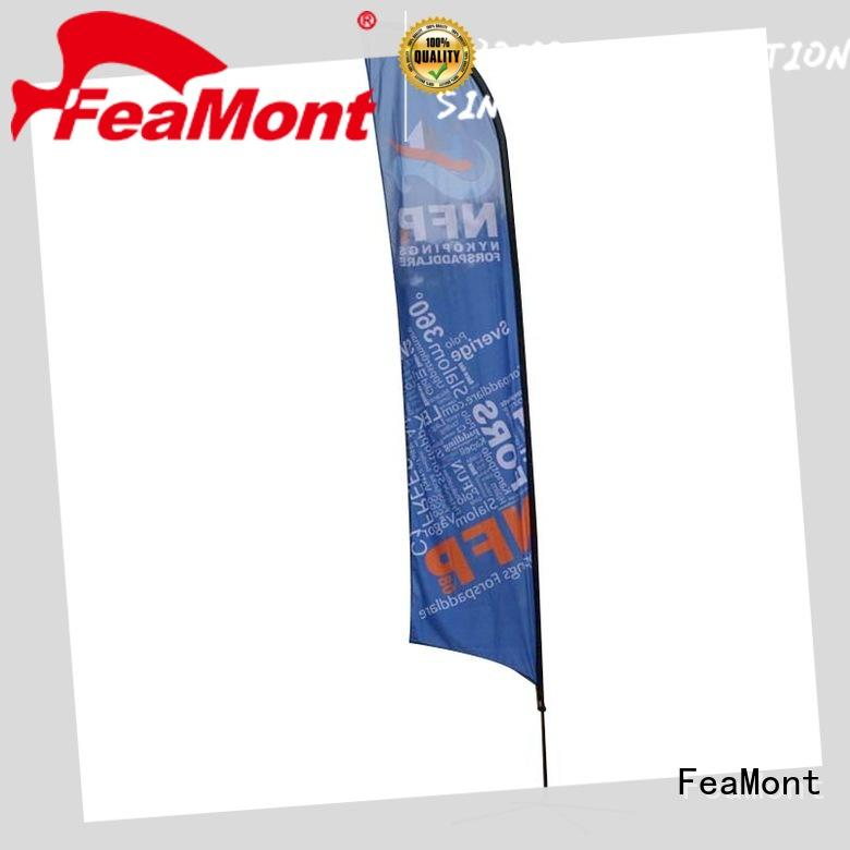 FeaMont newly feather flags wholesale for competition