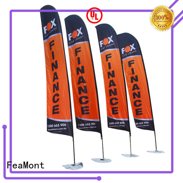flag banners aluminum in different color for camping