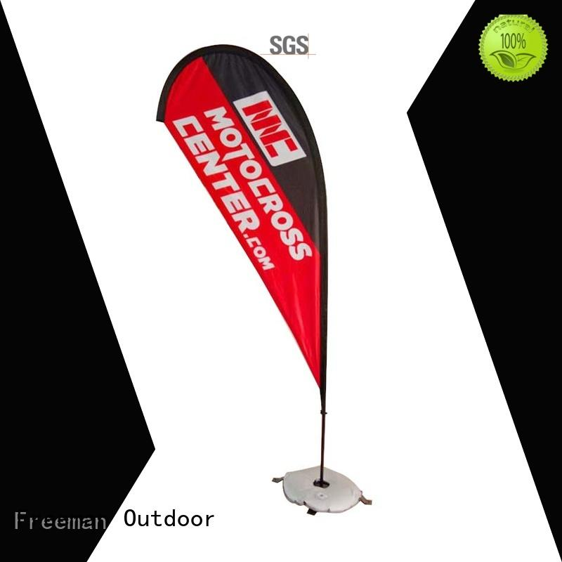 stable event flag feather certifications for outdoor exhibition