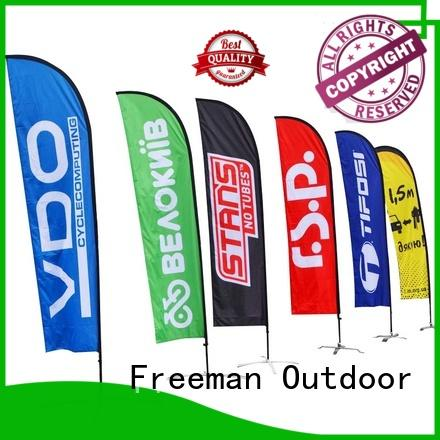 excellent promotional flag feather price for trade show
