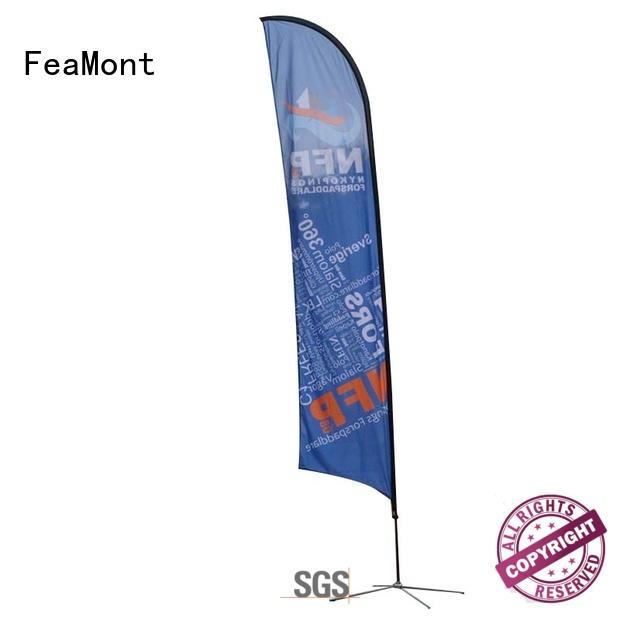 FeaMont advertising beachflag cancopy