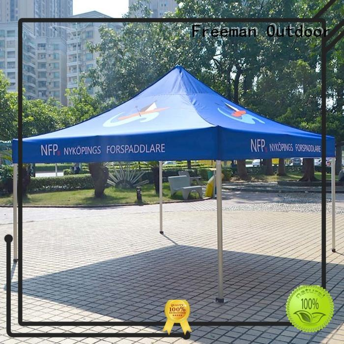 FeaMont folding event tent certifications for sports