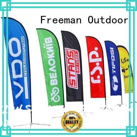 FeaMont outdoor feather flag wholesale for competition