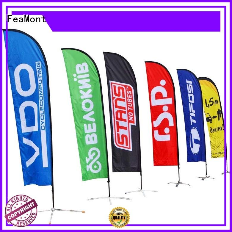 stable feather flag banners wind-force for-sale for outdoor exhibition