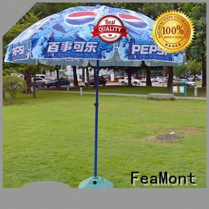 comfortable outdoor beach umbrella printing price for sporting