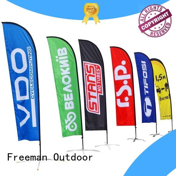 FeaMont outdoor beach flag banners marketing in beach