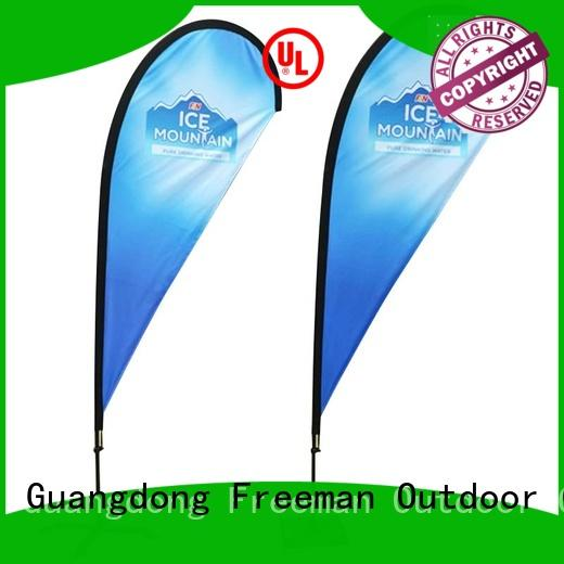 FeaMont affirmative promotional flag marketing for sports