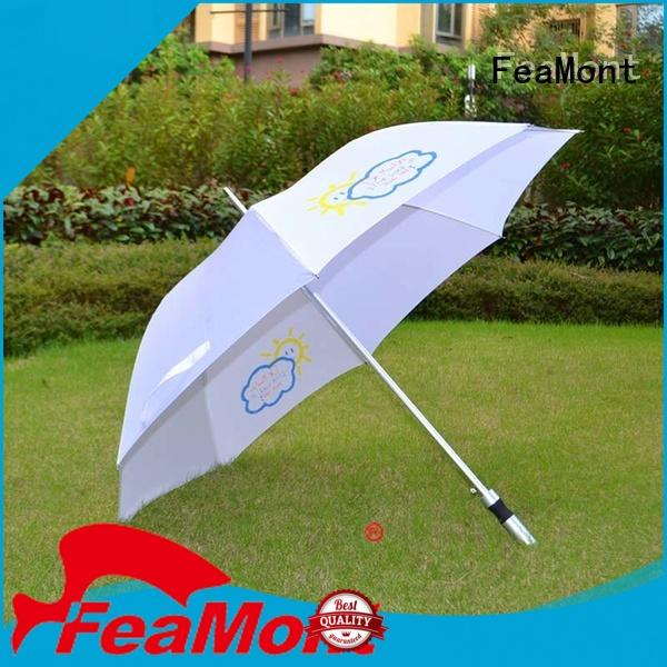 FeaMont handle canvas umbrella supplier for party