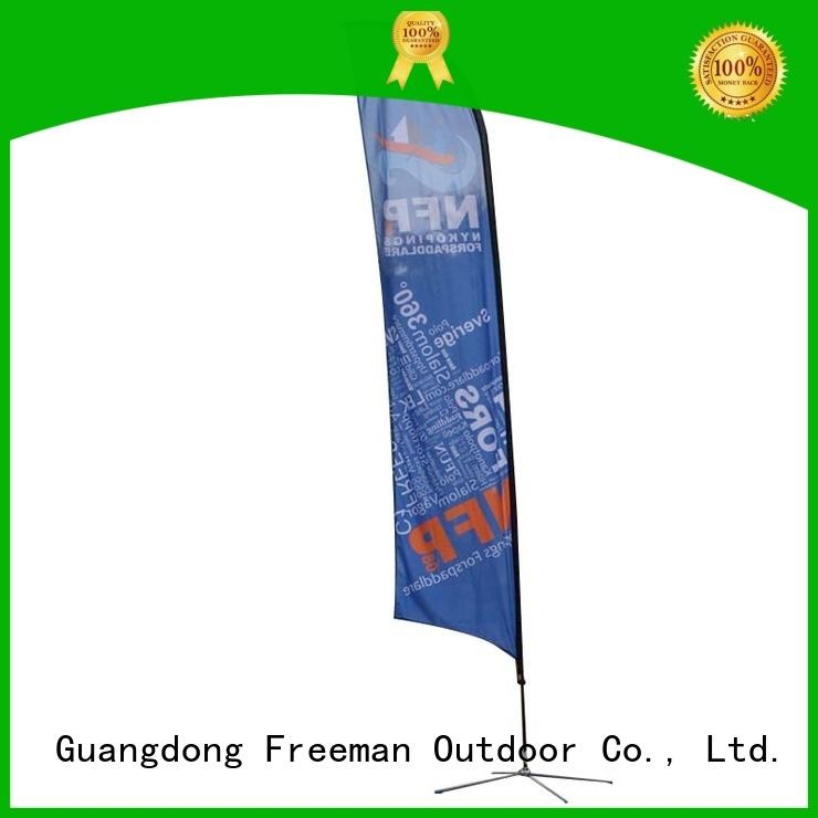 FeaMont affirmative feather flag banners for-sale in street