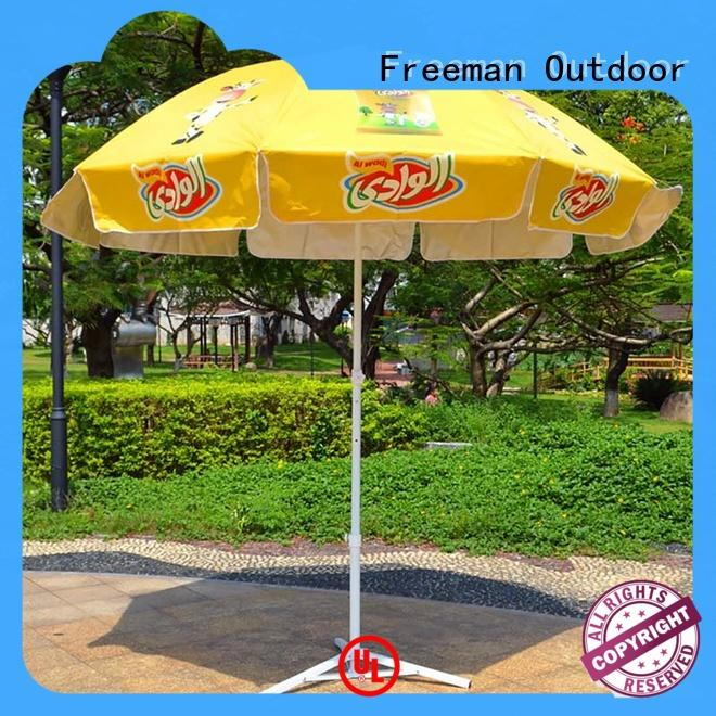 custom beach umbrella pole for event FeaMont